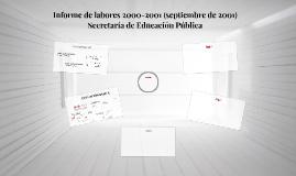 Copy of Informe de labores 2000-2001, septiembre de 2001