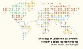 Teletrabajo en Colombia y sus avances.