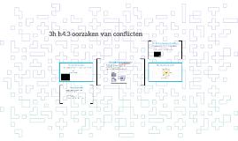 3h h4.3 oorzaken van conflicten