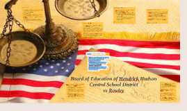 Board of Education of Hendrick Hudson Central School Distric