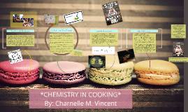 *CHEMISTRY IN COOKING*