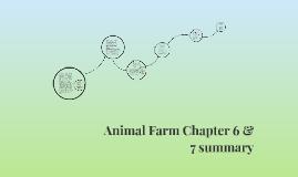 Copy of Animal Farm Chapter 6 & 7 summary