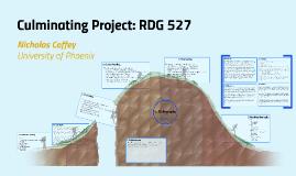 Copy of Culminating Project: RDG 527