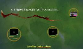 O VERDADERO CUSTO DE CONSUMIR