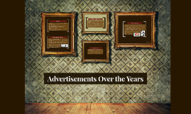 Advertisements Over the Years