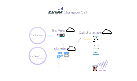 Marketo Champion Call