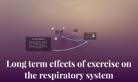 Long term effects of exercise on the respiratory system