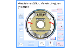 analisis estatico de embragues y frenos