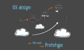 Van use case naar prototype