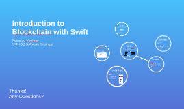 Introduction to Blockchain with Swift