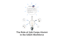 The Role Of Job Corps In USDA
