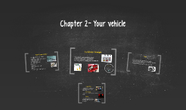 Chapter 2- Your vehicle