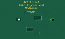 Machine learning, Big Data and Medicine