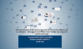 Copy of REPARACIÓN DEL DAÑO MORAL EN CASO DE PRIVACIÓN INJUSTA DE LA