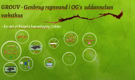 GROUV - Genbrug regnvand i Odder