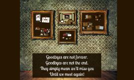 Good bye, Susanna!