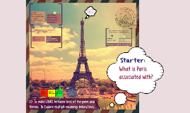 Copy of Starter:
