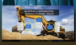 MÁQUINAS E EQUIPAMENTOS - Aula 01