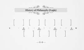 History of Philosophy (Logic)