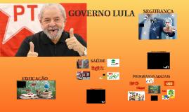 GOVERNO LULA