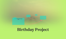 Birthday Project