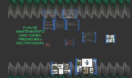 Copy of Copy of plan DE mantenimiento para torno y fresadora
