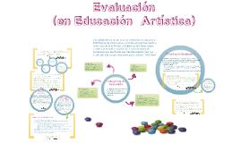 Evaluación (area artística)