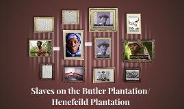 Slaves on the Butler Plantation