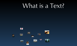 What Constitutes a Text?