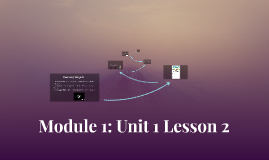 Module 1 Unit 1 Lesson 2