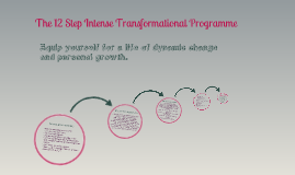 The 12 Step Transformational Programme