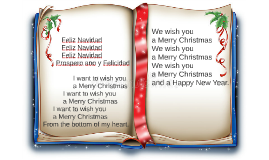 Feliz Navidad - We wish you a Merry Christmas