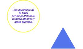 Regularidades de la tabla peridica valencia nmero y masa by regularidades de la tabla periodicalencia nmero atmico urtaz Gallery