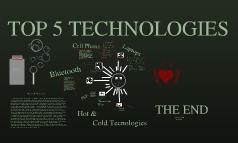 Laporsha Webb Top Five Technologies