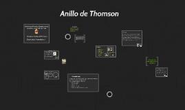 Copy of Anillo de Thomson