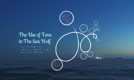 The Use of Tone in The Sea Wolf