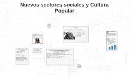 Copy of Nuevos sectores sociales y Cultura Popular