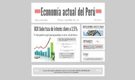 Economía actual del Perú