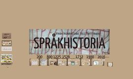 Copy of Språkhistoria