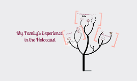 Copy of My Family's Experience in the Holocaust