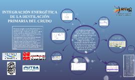Copy of INTEGRACIÓN ENERGÉTICA DE LA DESTILACION PRIMARIA DEL CRUDO