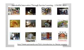 Innovations through Service Learning