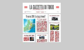 LA GAZZETTA DI TOKIO