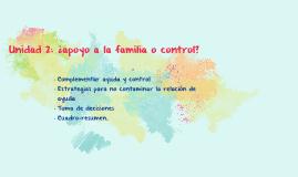 Apoyo a la Familia o Control