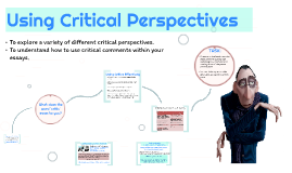 Using Critical Views - AS Poetry