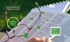 Sistema de Educación Teológica por Extensión