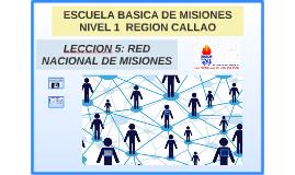 RED NACIONAL DE MISIONES