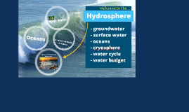 Standard 4 - Hydrosphere (modified)