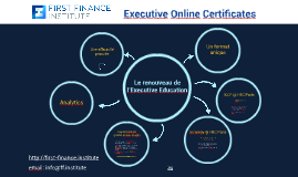 Executive Online Certificates (fr)