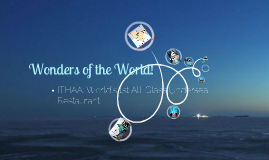 ITHAA: World's 1st All-Glass Undersea Restaurant